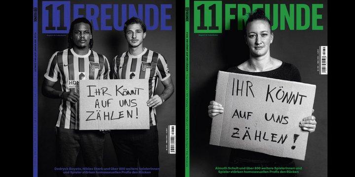 Cover Fußballmagazin 11 Freunde