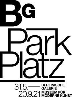 BG Park Platz