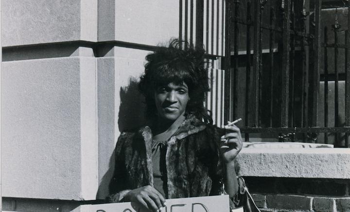 Marsha P Johnson © New York Public Library, Manuscripts and Archives Division, Diana Davies.tif