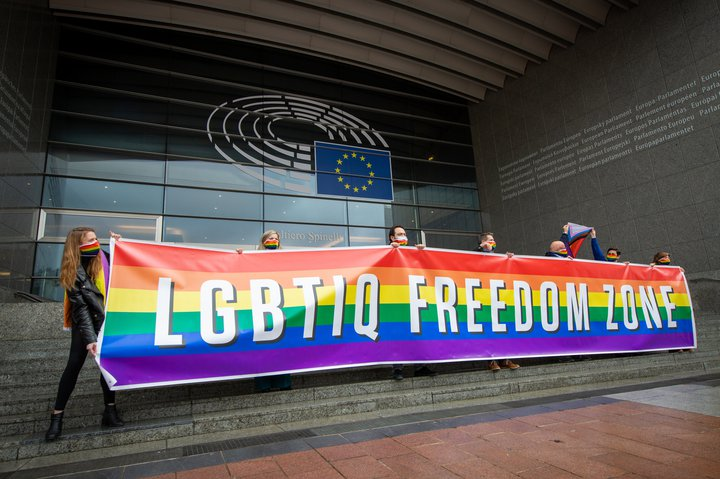 EU-Parlament LGBTIQ Freedom Zone