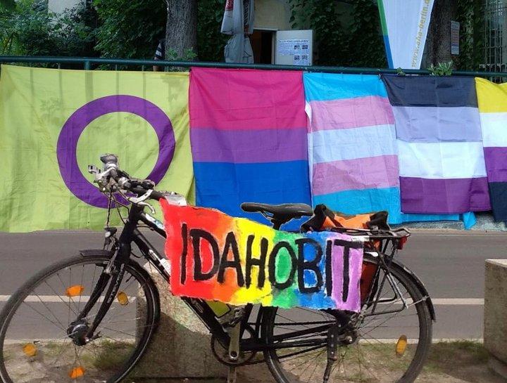Fahrraddemo IDAHOBIT 2021