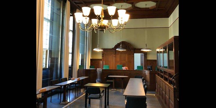 Amtsgericht Tiergarten Verhandlungsraum