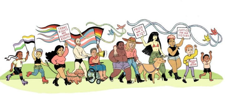 Trans Pride Illustration