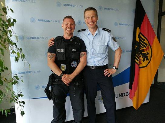 Transphobie bei der Bundespolizei?